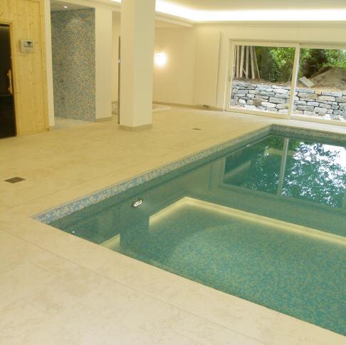 Wellness  Und Poolbereich In Privatvilla